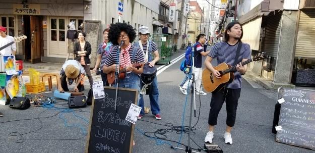 横浜 野毛でミュージックでお祭り_e0119092_15283429.jpg