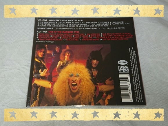 TWISTED SISTER / YOU CAN\'T STOP ROCK\'N\'ROLL & LIVE AT THE MARQUEE 1983_b0042308_00071254.jpg