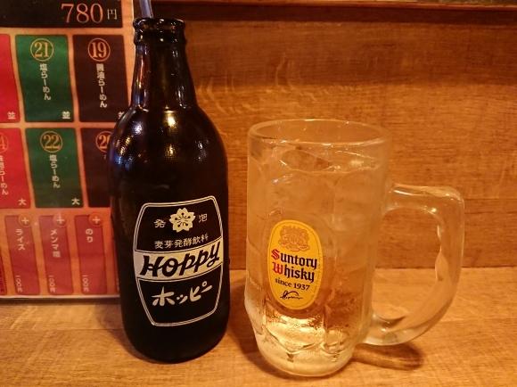 9/23 24時間大衆らーめん酒場 桔梗 @新宿_b0042308_23380637.jpg