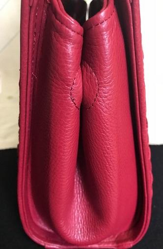 岡田その子・型絵染の帯・パリの地下鉄・赤い元気バッグ_f0181251_15331249.jpg
