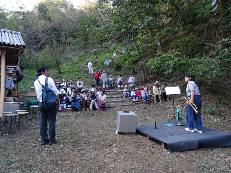 『第2回 孝子の森夕暮れコンサート』(トランペット演奏)_c0108460_00461009.jpg