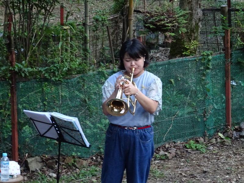 『第2回 孝子の森夕暮れコンサート』(トランペット演奏)_c0108460_00471152.jpg