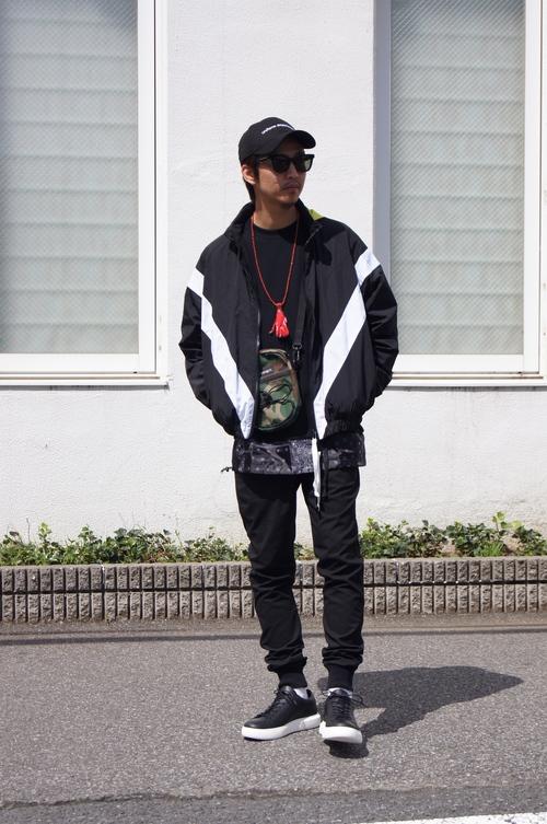 SOPHNET. & UE - Black style._c0079892_201139.jpg