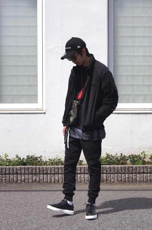 SOPHNET. & UE - Black style._c0079892_20125294.jpg