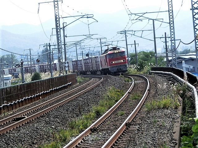 藤田八束の鉄道写真@青い森鉄道と貨物列車の激写・・・貨物列車レッドサンダーと金太郎はかっこいい!!_d0181492_21343464.jpg