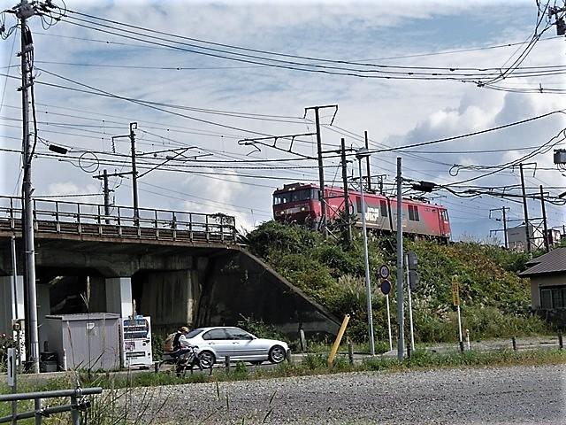 藤田八束の鉄道写真@青い森鉄道と貨物列車の激写・・・貨物列車レッドサンダーと金太郎はかっこいい!!_d0181492_21370523.jpg