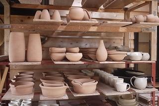 ③陶芸家:馬場勝文さんの窯場(かまば)へ案内してくださいました!_f0226293_08504895.jpg