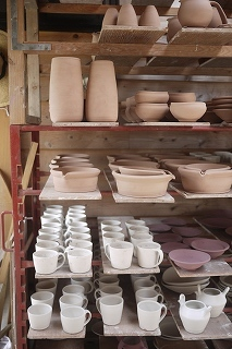 ③陶芸家:馬場勝文さんの窯場(かまば)へ案内してくださいました!_f0226293_08505032.jpg