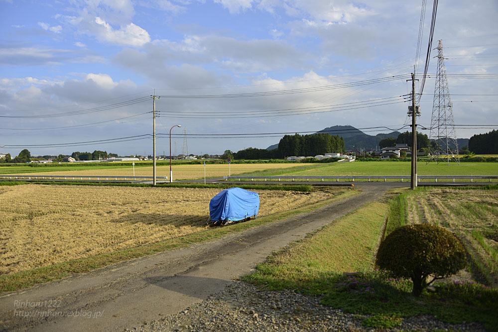2018.9.24 稲刈りが終わりました。_f0250322_19505431.jpg