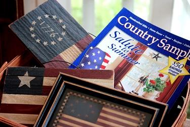 2000年の「Country Sampler」とフラッグの雑貨_f0161543_14544462.jpg