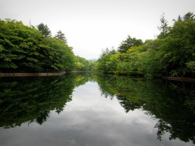 ③初秋の軽井沢をご案内 * 染まり始めた雲場池をお散歩♪_f0236260_05442036.jpg