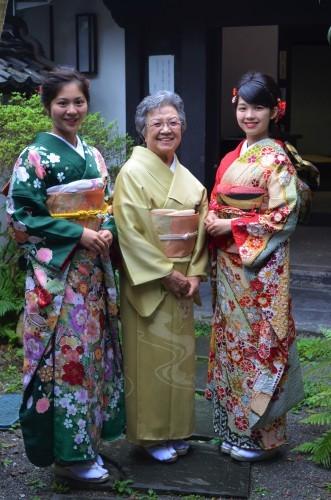 成人式前撮り ご家族お着物で、素敵な笑顔(^-^)_d0230676_16450175.jpg