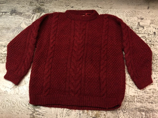 """充実の\""""Fisherman Knit\""""!!(大阪アメ村店)_c0078587_2313598.jpg"""