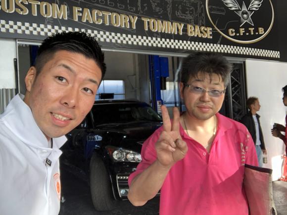 9月25日(火)TOMMYBASE スタッフブログ ☆ハマーH2 QX56 ワンオフマフラー☆_b0127002_13304539.jpg