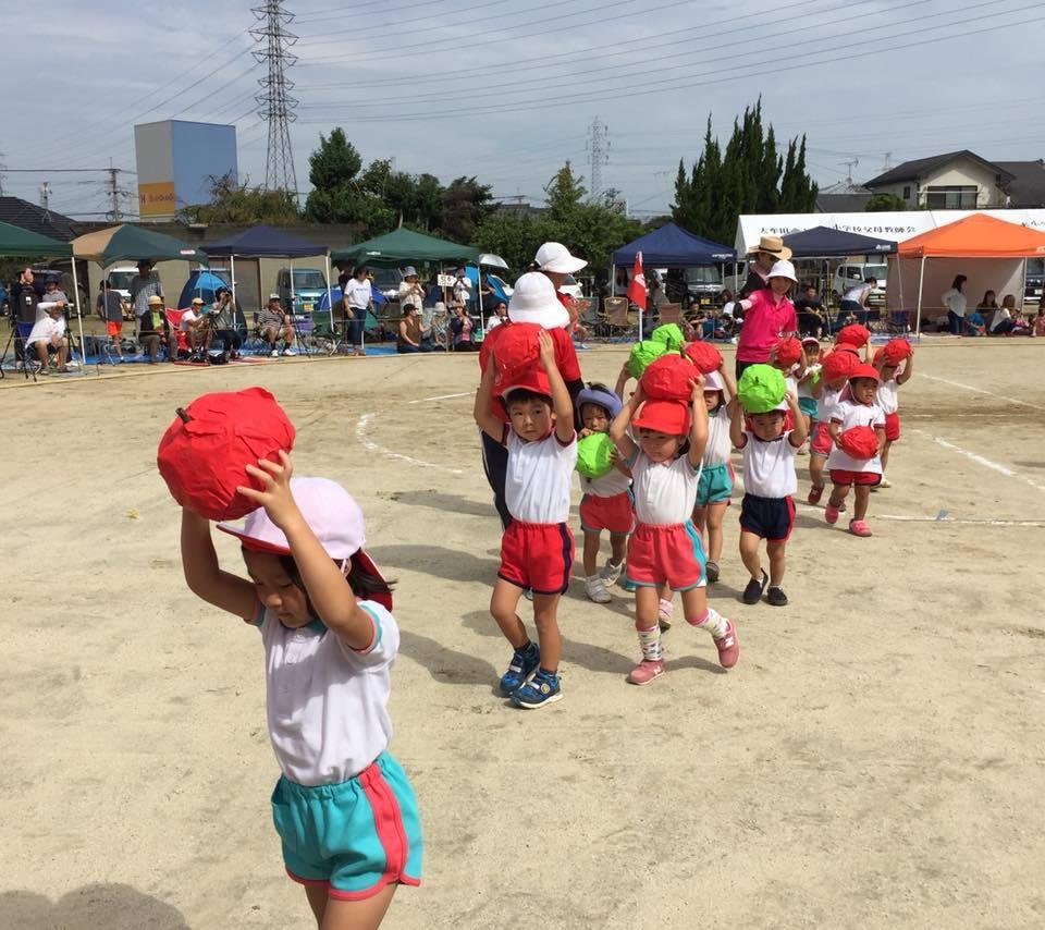 銀水幼稚園運動会☆その1_c0107515_16083873.jpg