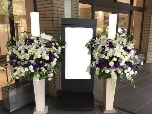 代々幡斎場に供花をお届け_d0029716_15110911.jpeg
