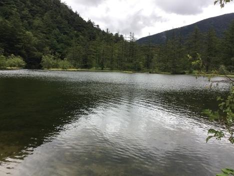 初めての上高地、雨の明神池。_d0029716_18073193.jpeg