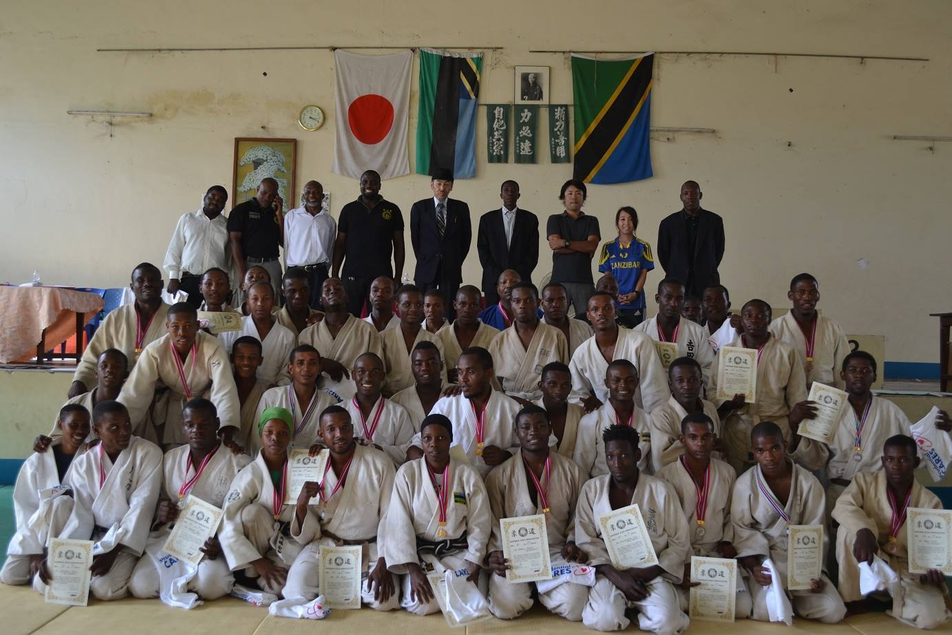 ZANZIBAR WEGHT CATEGORY JUDO CHAMPIONSHIP2018~ザンジバル柔道選手権大会2018_a0088841_10362779.jpg