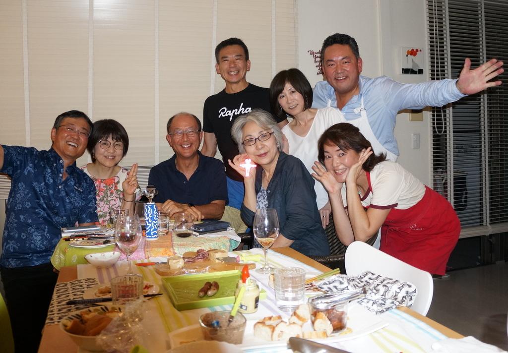 友人たちと横浜のMちゃん家で(9/23)_c0180686_07554682.jpg
