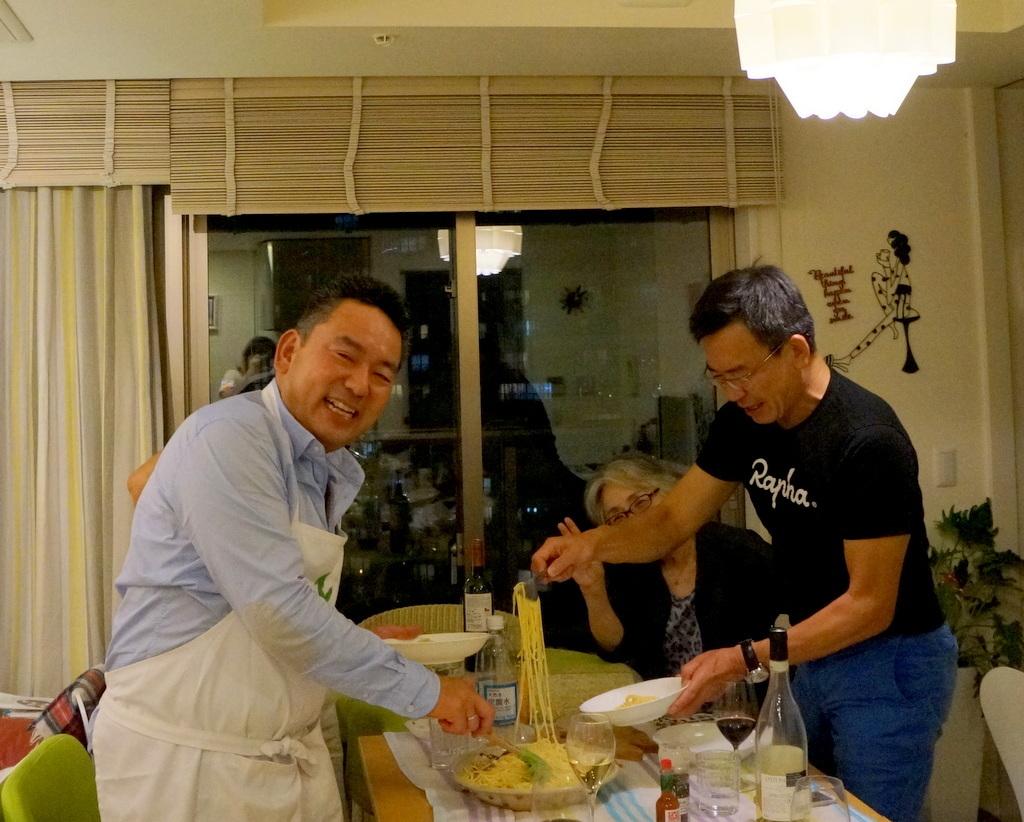 友人たちと横浜のMちゃん家で(9/23)_c0180686_07560850.jpg