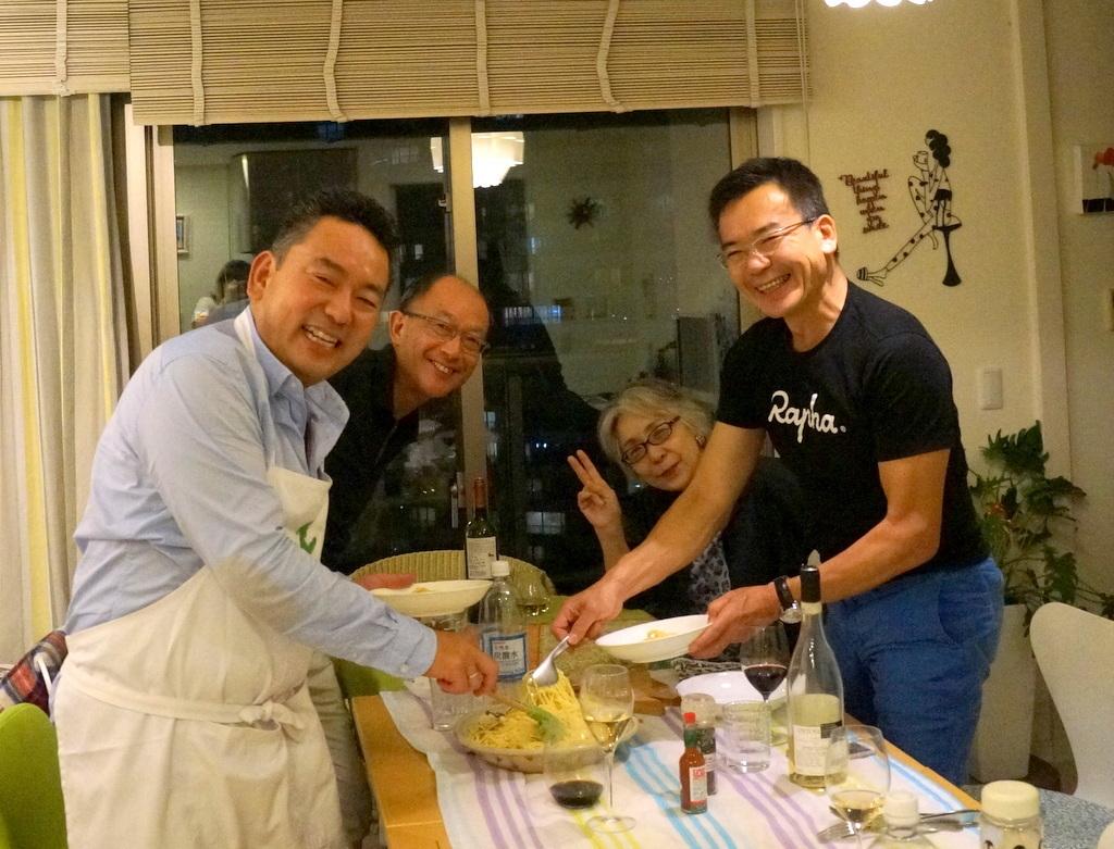 友人たちと横浜のMちゃん家で(9/23)_c0180686_07561288.jpg