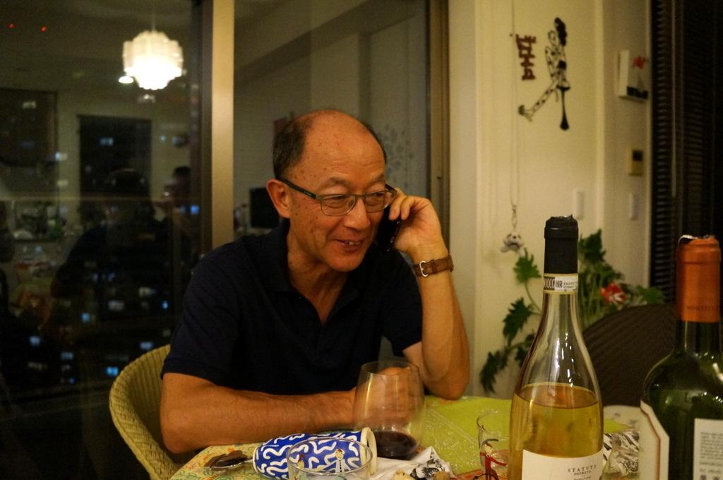 友人たちと横浜のMちゃん家で(9/23)_c0180686_07562200.jpg