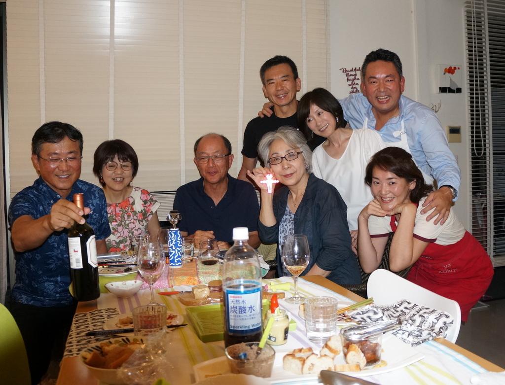 友人たちと横浜のMちゃん家で(9/23)_c0180686_07570083.jpg