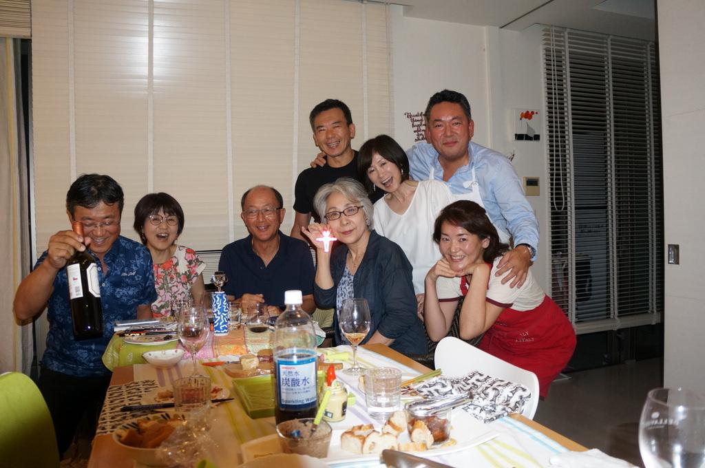 友人たちと横浜のMちゃん家で(9/23)_c0180686_07571528.jpg