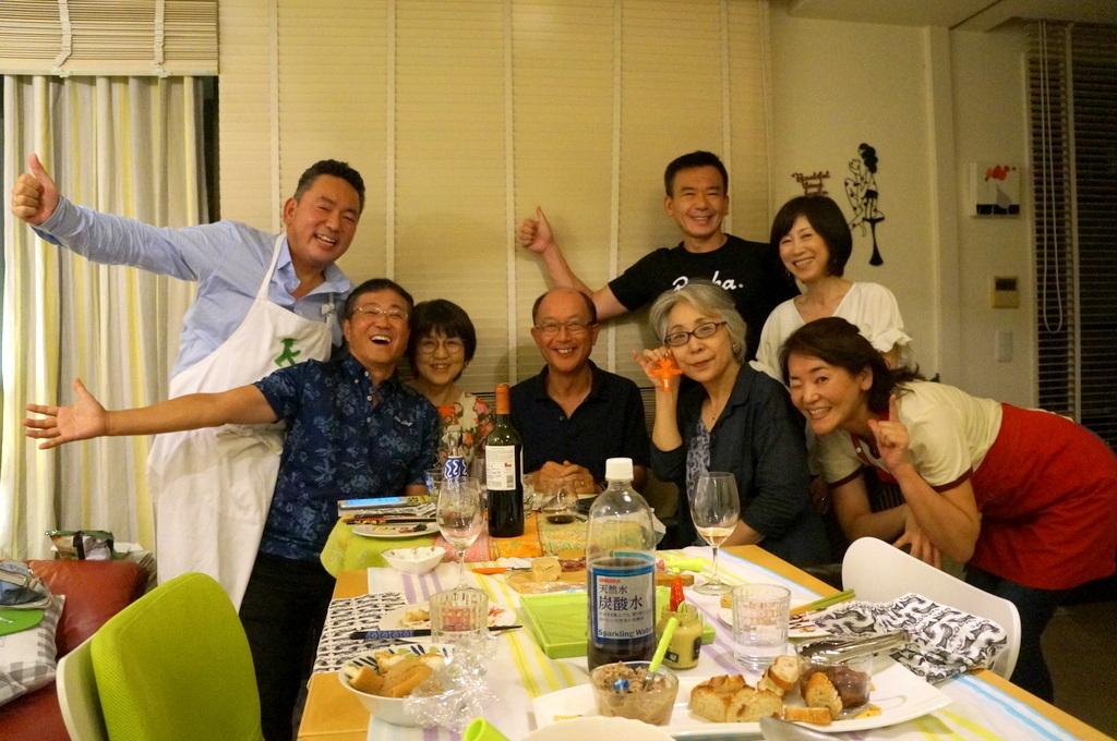 友人たちと横浜のMちゃん家で(9/23)_c0180686_07573078.jpg