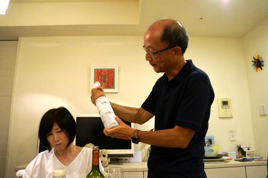 友人たちと横浜のMちゃん家で(9/23)_c0180686_07580242.jpg