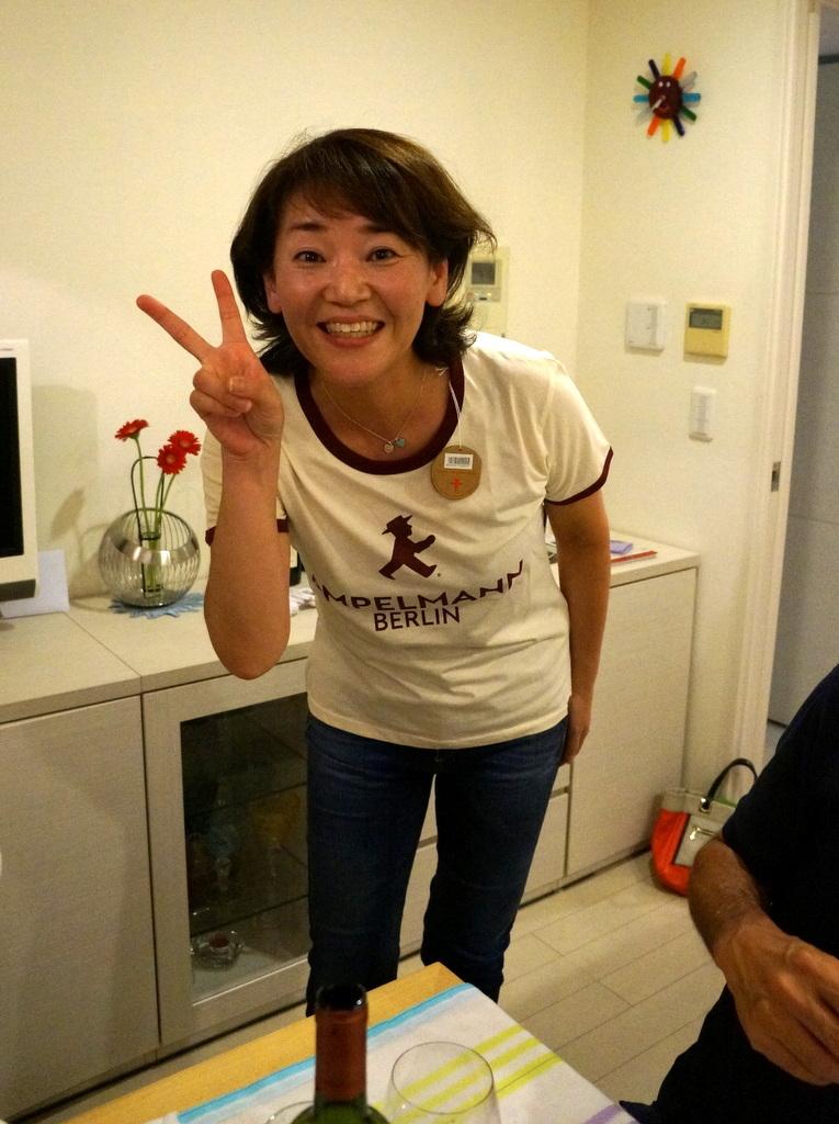 友人たちと横浜のMちゃん家で(9/23)_c0180686_07581089.jpg