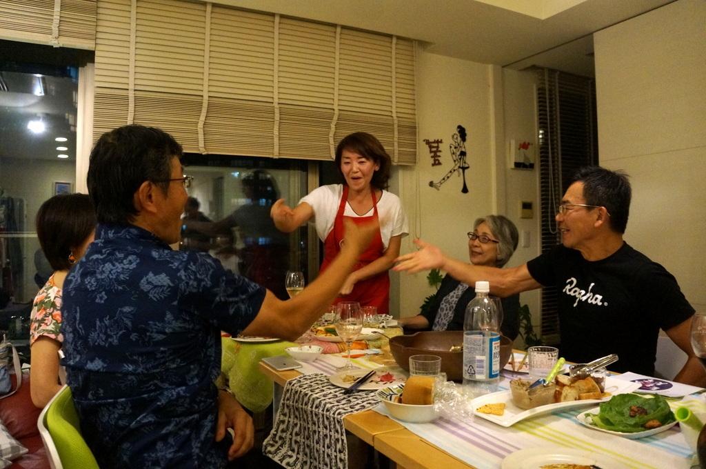 友人たちと横浜のMちゃん家で(9/23)_c0180686_07581972.jpg
