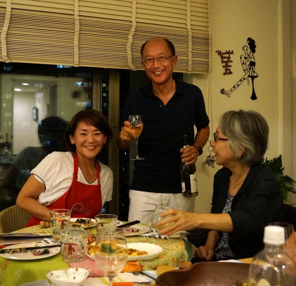 友人たちと横浜のMちゃん家で(9/23)_c0180686_07582842.jpg