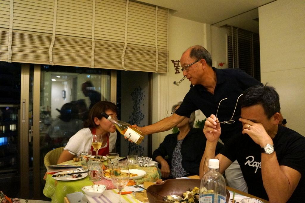 友人たちと横浜のMちゃん家で(9/23)_c0180686_07583313.jpg