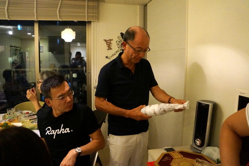 友人たちと横浜のMちゃん家で(9/23)_c0180686_07584395.jpg