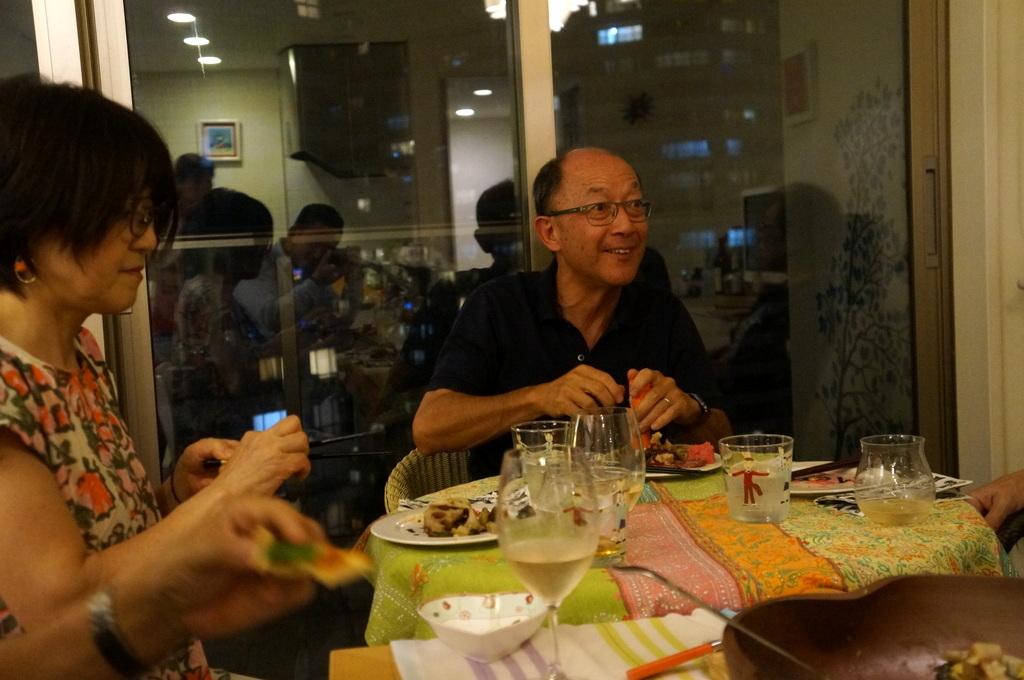 友人たちと横浜のMちゃん家で(9/23)_c0180686_07591548.jpg