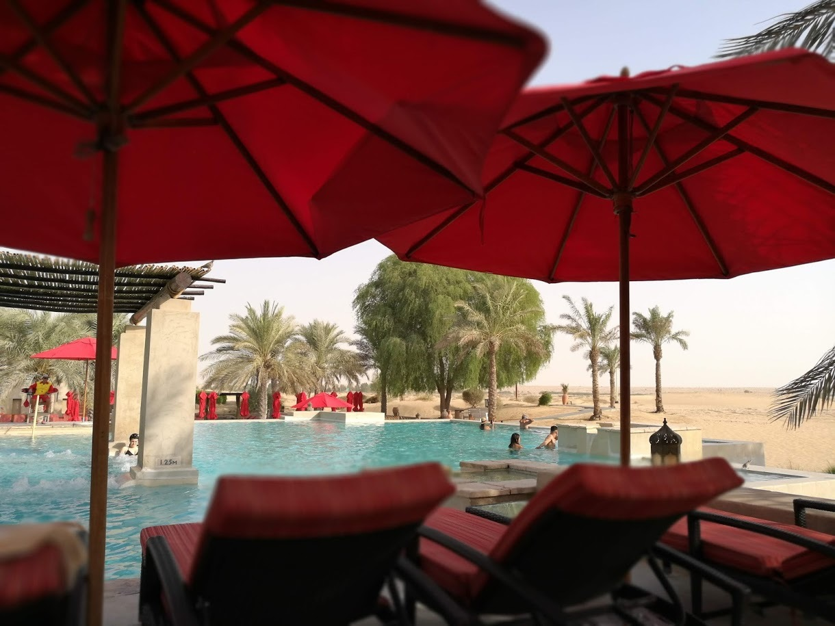 ドバイの旅 vol.2  砂漠のリゾート Bab Al Shams Desert Resort & Spa _c0114110_12361576.jpg