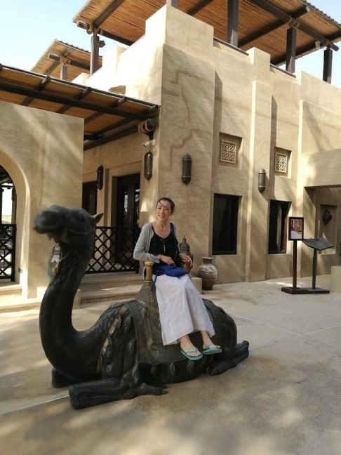 ドバイの旅 vol.2  砂漠のリゾート Bab Al Shams Desert Resort & Spa _c0114110_12545303.jpg
