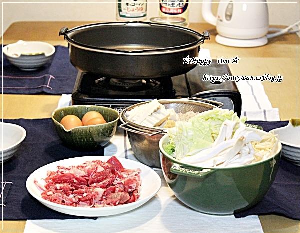 今夜は、やっすいお肉でdeすき焼き♪_f0348032_18393301.jpg