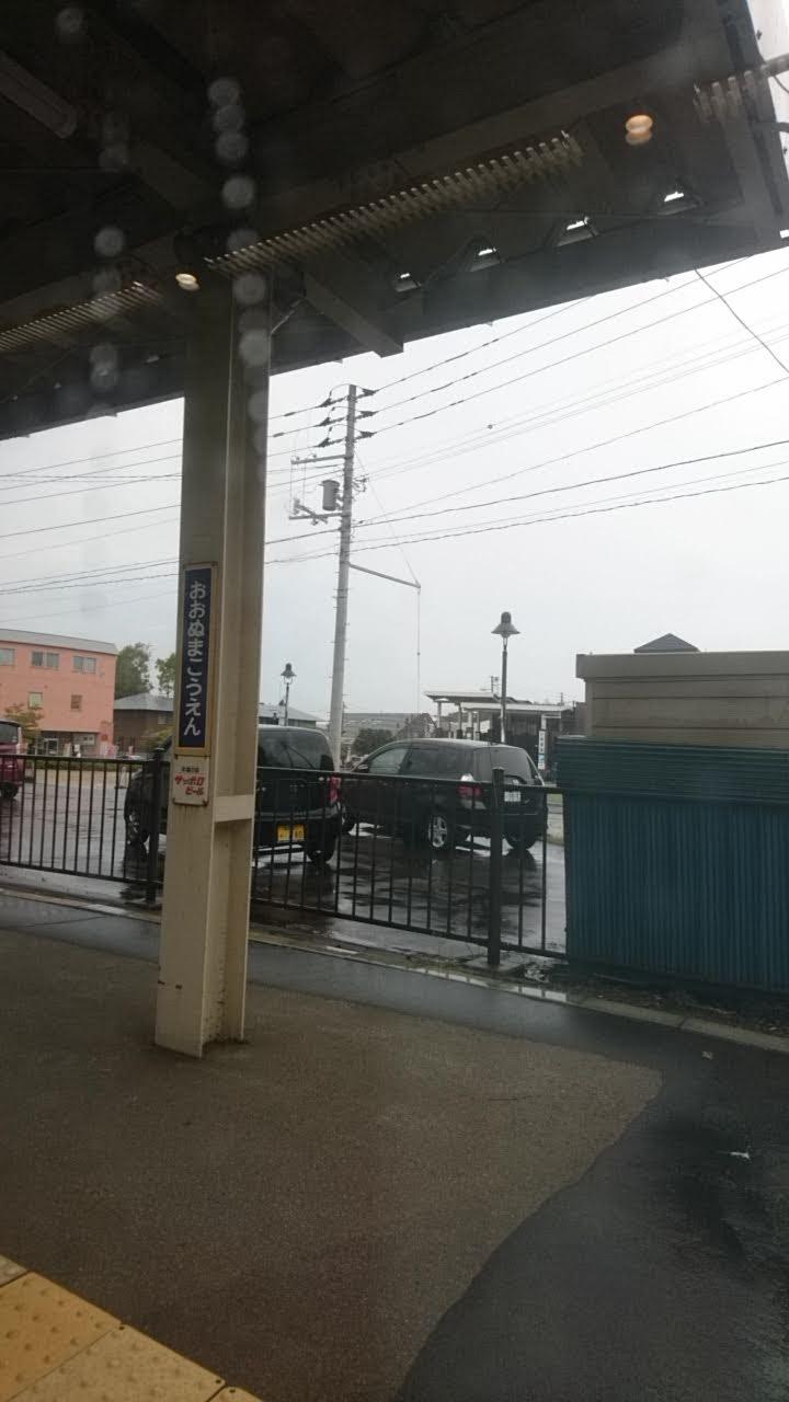 大沼公園駅のホーム_b0106766_2136770.jpg