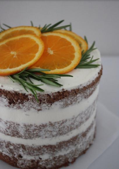 オレンジとココアのネイキッドケーキ _d0339705_12141564.jpg