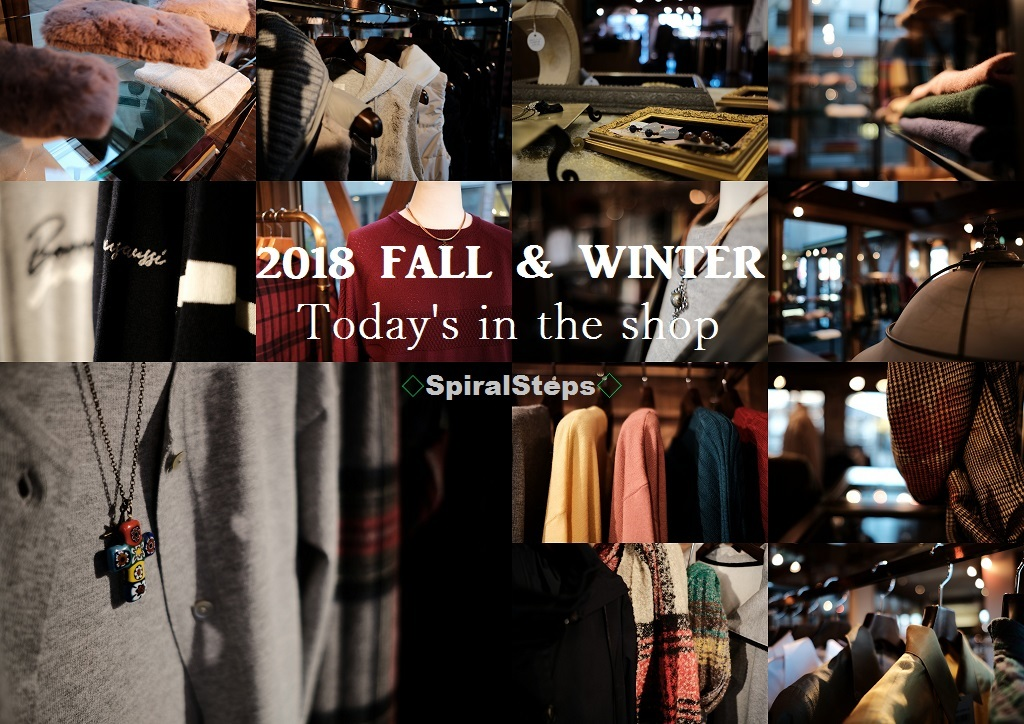 """2018 Fall & Winter~Today\'s in the shop...9/27thu\""_d0153941_18331045.jpg"
