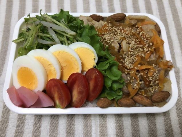肉野菜炒め弁当_b0371149_07083957.jpeg