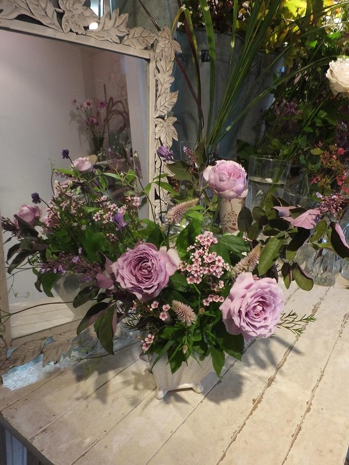 オークリーフ花の教室(山田さんの作品)_f0049672_16150936.jpg