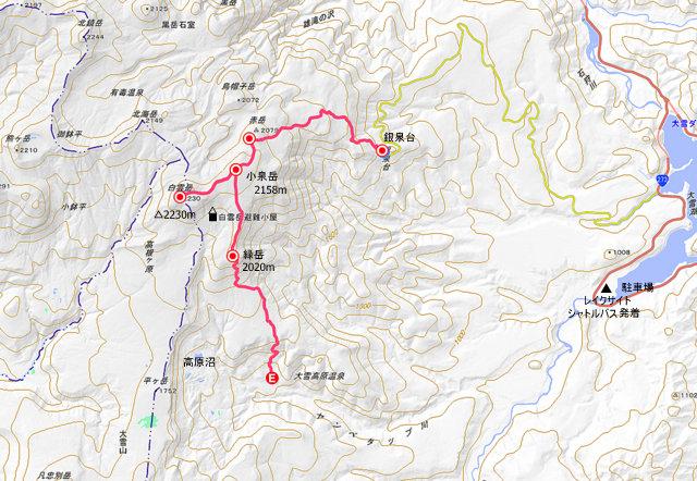2018年9月24日(月・祝) 大雪山三色縦走「赤岳~白雲岳~緑岳」_a0345007_149955.jpg