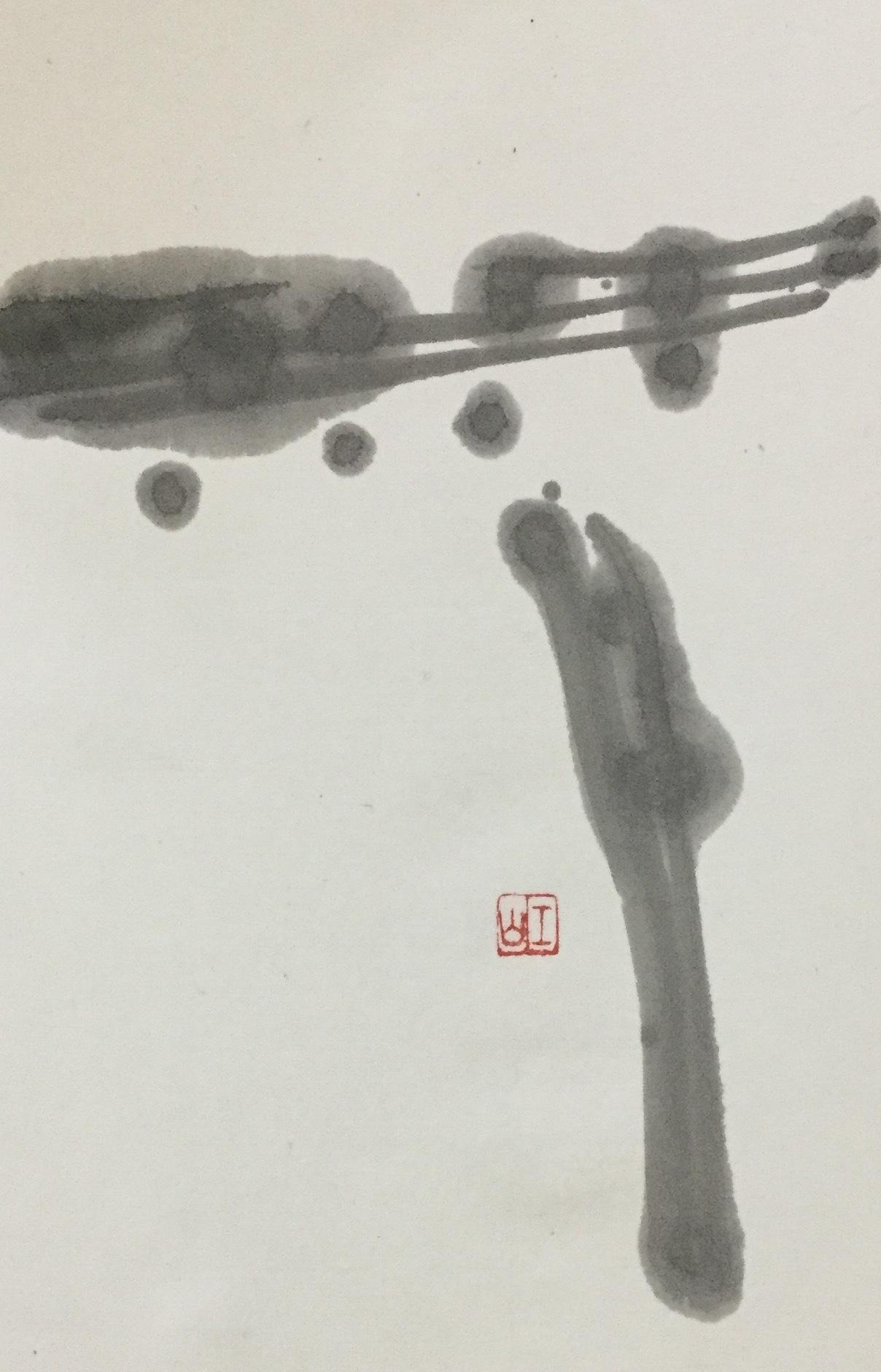 ショボショボ雨…       「無」_b0075826_17584364.jpg