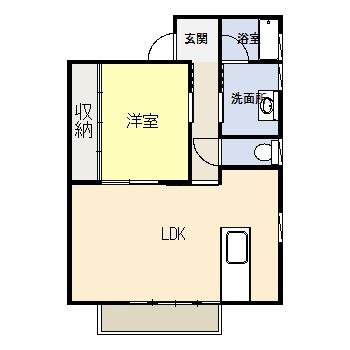 築浅 1LDKアパート_b0170834_18072139.jpg