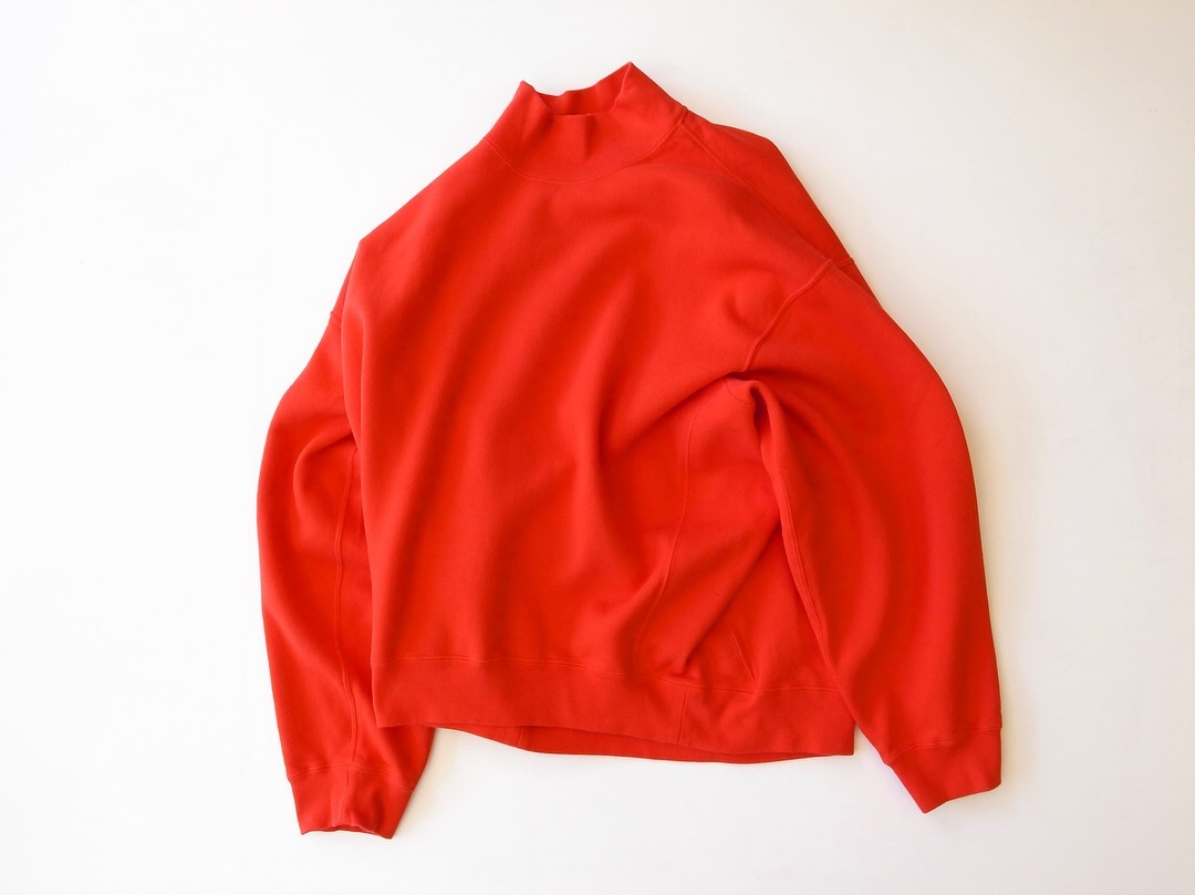 MAISON EUREKA HIGH NECK SWEAT_f0111683_12071727.jpg