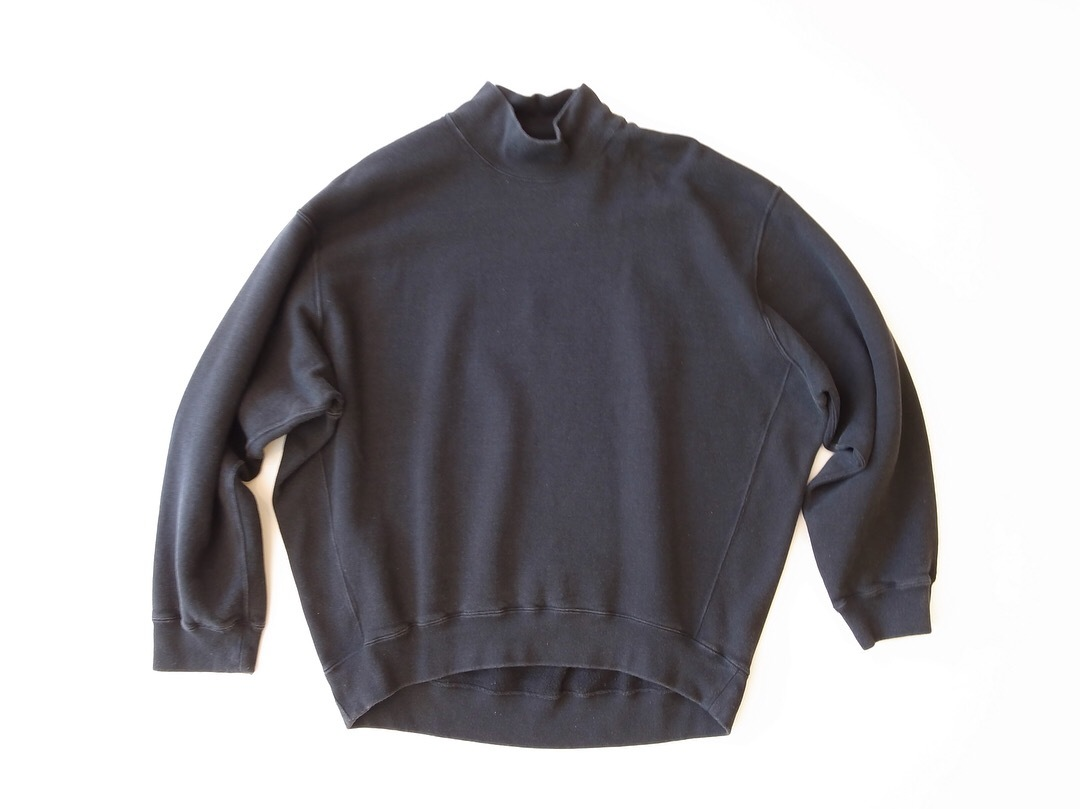 MAISON EUREKA HIGH NECK SWEAT_f0111683_12075251.jpg