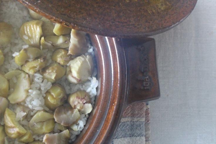 栗ご飯を炊きました_a0002105_17092827.jpg
